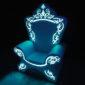Светящееся кресло деда мороза